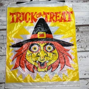 1970s Trick or Treat Bag